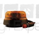 Gyrophare à LED 12V / 24V fixation magnétique Homologué route R65 - R10
