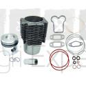 Cylindre piston moteur MWM D327, D327-2, D327-3, D327-4, D327-6 avec joints tracteur Renault Fendt 7701200356