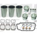 Kit revision moteur MWM D226-3.R coussinet, chemise, piston, joint, tracteur Renault 7701032472, 7701023376