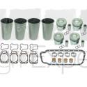 Kit révision haut moteur MWM D226-4.R coussinets, chemises, pistons, joints, tracteur Renault 7701032472, 7701023376, D226-4R
