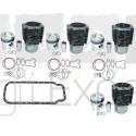Kit de revision moteur MWM D327-4, D327.24 tracteur Renault Fendt 4 Cylindres 7701023379
