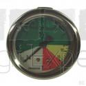 Manomètre à glycérine 0 à 25B pour pulvérisateur fixation arrière ∅63 mm