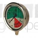 Manomètre pulvérisateur 0 à 60 bar Ø 100 mm WIKA