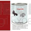 Peinture rouge Case IH à partir de 1985 application au pistolet à peinture