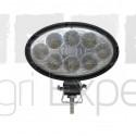 Phares de travail oval à LED 1800 Lumens