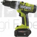 Perceuse visseuse Worx Professional 18 V 2.6Ah