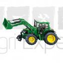 Tracteur John-Deere avec chargeur SIKU 3652 Échelle: 1:32