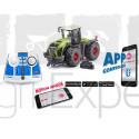 Tracteur Claas Xerion 5000 TRAC VC, télécommande via application bluetooth SIKUCONTROL + télecommande Jouet Siku Radiocommandé