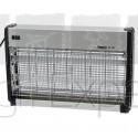 Tue-mouches Electrique portée env. 100 m² 2 lampes UV 15W pour étable et utilisation domestique