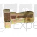 Vis creuse conduit de retour d'injecteur moteur Perkins AD3.152, AD4.203, A4.248, A6.354 tracteur Eicher, Ford, Landini, Massey-Ferguson