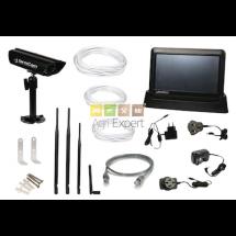 FarmCam Système de caméra complet pour la surveillance de la ferme avec une caméra simple d'utilisation pour les chevaux agneaux bovin vache vêlage batiment etc