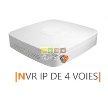 Enregistreur pour la transmission de 4 dispositifs de surveillance Visio Expert maximum