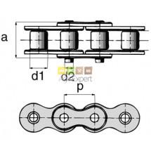 Chaines à rouleaux  type Européenne 5mètres