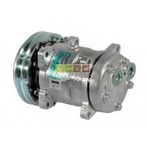 Compresseur SD510HD-9149  Ø152 mm A2G sortie Horiz 12V Landini, Massey-Ferguson