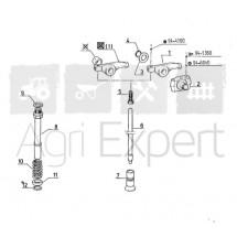 Tube de culbuteur moteur MWM D325, D325.2, D325.3, D325.4, D325.6, D327, D327.2, D327.3, D327.4
