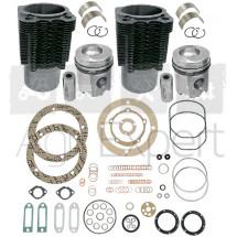 Kit rénovation moteur F2L912 Deutz 2 Cylindres avec pochette de joint. Deutz série FL912, 02929968, 02929656