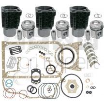 Kit rénovation moteur F3L912 Deutz 3 Cylindres avec pochette de joint complète. FL912 tracteur Deutz-Fahr, Fendt, Renault 50-12V, 50-12LB, 55-12V, 55-12F, 55-12LB, 55-14V, 55-14LB, Dionis 110, Fructus 110, Pales 210