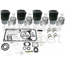 Kit de révision moteur F4L912 Deutz avec pochette complète. FL912 tracteur Deutz-Fahr, Fendt, Renault 70-12F, 70-12V, 70-12LB, 70.14F, 70-14V, 70-14LB, 80-12F, Fructus 130, Dionis 130, Palès 230
