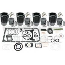 Kit rénovation moteur F4L913 Deutz Fahr série FL913 -4 Cylindres avec coussinets, pochette de joint complète.