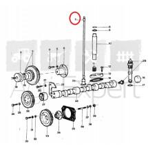 Tige de culbuteur moteur Lamborghini FL 1003/2 tracteur R503, R583, R603