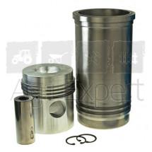 Kit chemise piston moteur Zetor 4320, 4340, 4712, 4718, 5911, 5945, 6011, 6045, 6211, 6245, 6711, 6718, 6745, 6748 John-Deere 2200