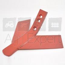 Soc à côte triangulaire Gard 420x8 entraxe 50 à 75 mm, Soc vigneron