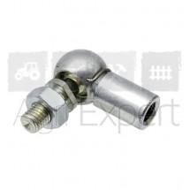 Rotule acier pour vérin à gaz filetage M10 x L35