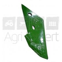 Pointe de charrue gauche rechargée pour Amazone Cayron 200, 200V, RE 02/K1, Original 72001221 ( ex Vogel&Noot )