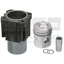 Kit cylindre piston moteur Deutz FL912, 93535960 monte d'origine Kolbenschmidt KS 02101175, 02137721, 02137726