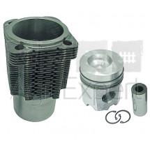 Kit cylindre piston moteur Deutz FL912, 02929968 monte d'origine KS - MAHLE - Federal-Mogul