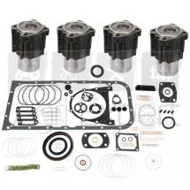 Kit révision KS moteur Deutz F4L913 Cylindres, pochette de joint complète KOLBENSCHMIDT, tracteur Deutz-Fahr, Fendt, Renault