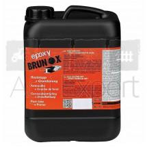 Convertisseur de rouille et primer époxy compatible avec les peinture disponibles sur notre site. BRUNOX® bidon 5L