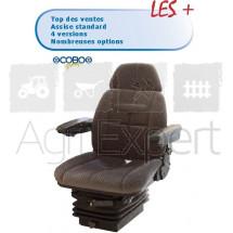 Siège Tissu M200 SC95 COBO avec contacteur de sécurité, suspension mécanique étroite