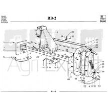 Joint pour rotavator Sovema RB-2 repère N°33