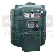 Cuve de stockage carburant GNR 6000L avec groupe de pompage 100L/min 230V