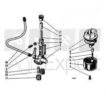 Pompe à huile moteur David Brown CASE 990, 995, 996