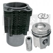 Kit cylindre piston moteur Deutz FL912, 02929968, 02929656, 02929968, 02928142