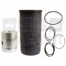 Cylindre piston complet moteur JCB Leyland Nuffield 3/42, 3/45, 4/60, 4/65, 10/42, 10/60, 3/42, 3/45