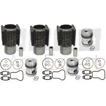 Kit de revision haut moteur MWM AKD112D FL237 réfection moteur Fendt, Renault, MWM 3 Cylindres. AKD 112