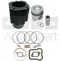Chemise piston Kit de revision haut moteur SAME 1053P, 1054P, 1055P, 1056P, 1056PT Tracteur Same, Lamborghini, Hurlimann.