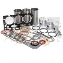 Kit de révision moteur AD3/49 David Brown 770, Chemise semi-finie, piston, segment, bague de bielle, pochette de joint jusqu'au N°11052360