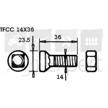 Boulon TFCC 14X36 pour soc Goizin Origine 020216 (boite 25u)