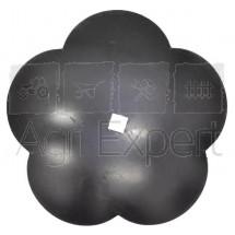 Disque lobes concaves lisse diamètre 610x6 carré 41 mm