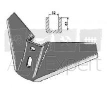 Aileron mono bloc 480x12 EA70 D14 pour déchaumeur 21° d'angle