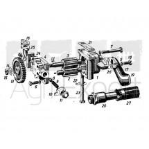 Pompe à huile moteur MWM KD10.5, KD 412D