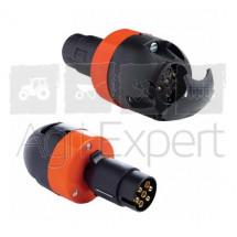 Prise adaptateur pour rampe de remorque LED 7 pôles, 12 V, simule la résistance d'un ampoule conventionnelle, afin que le clignotant LED ne déclenche pas le témoin de panne.